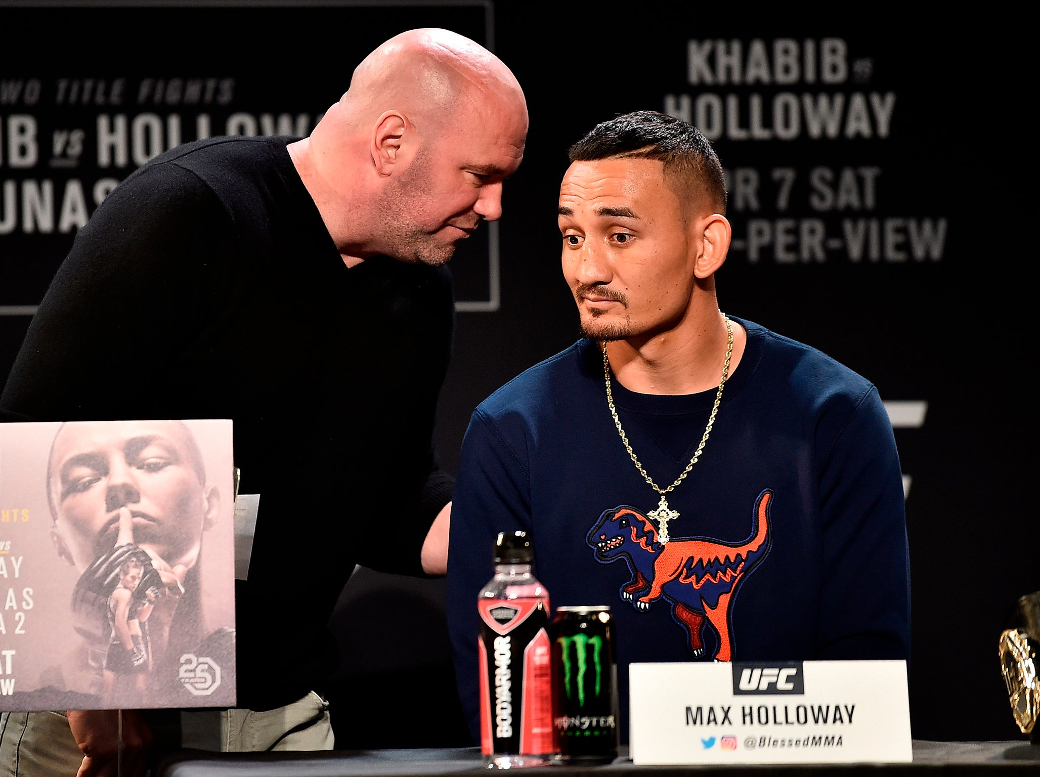 Max Holloway Unfit To Fight Khabib Nurmagomedov At Ufc 223 With Card In Tatters After Conor Mcgregor Bus Attack The Independent The Independent