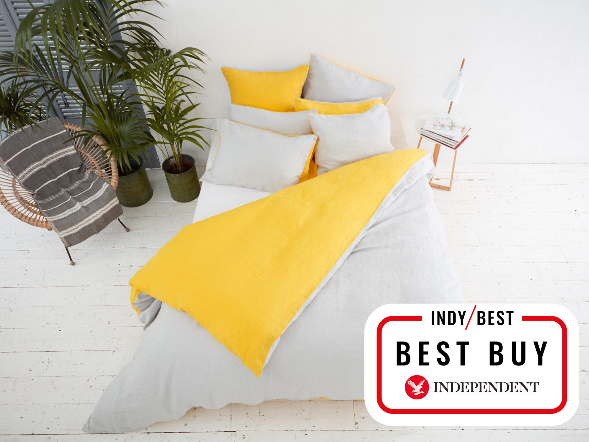 Set Includes: Fitted Sheet, Two Pillow Cases, Duvet Cover. Machine Wash: 40°