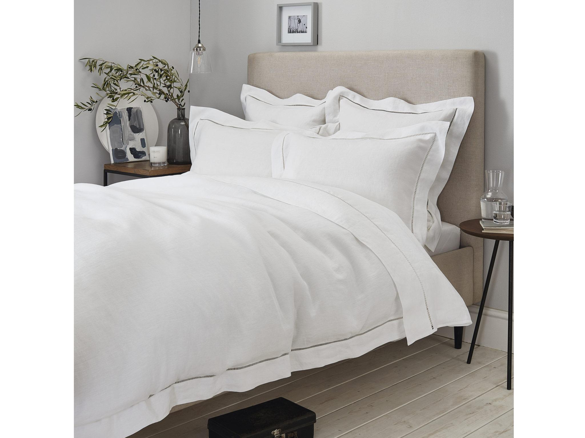 The White Company Santorini Linen Bed Linen Collection: From £45, The White  Company
