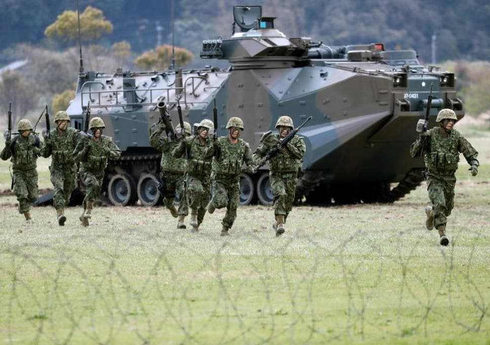 Japan activates first marine unit since Second World War to bolster