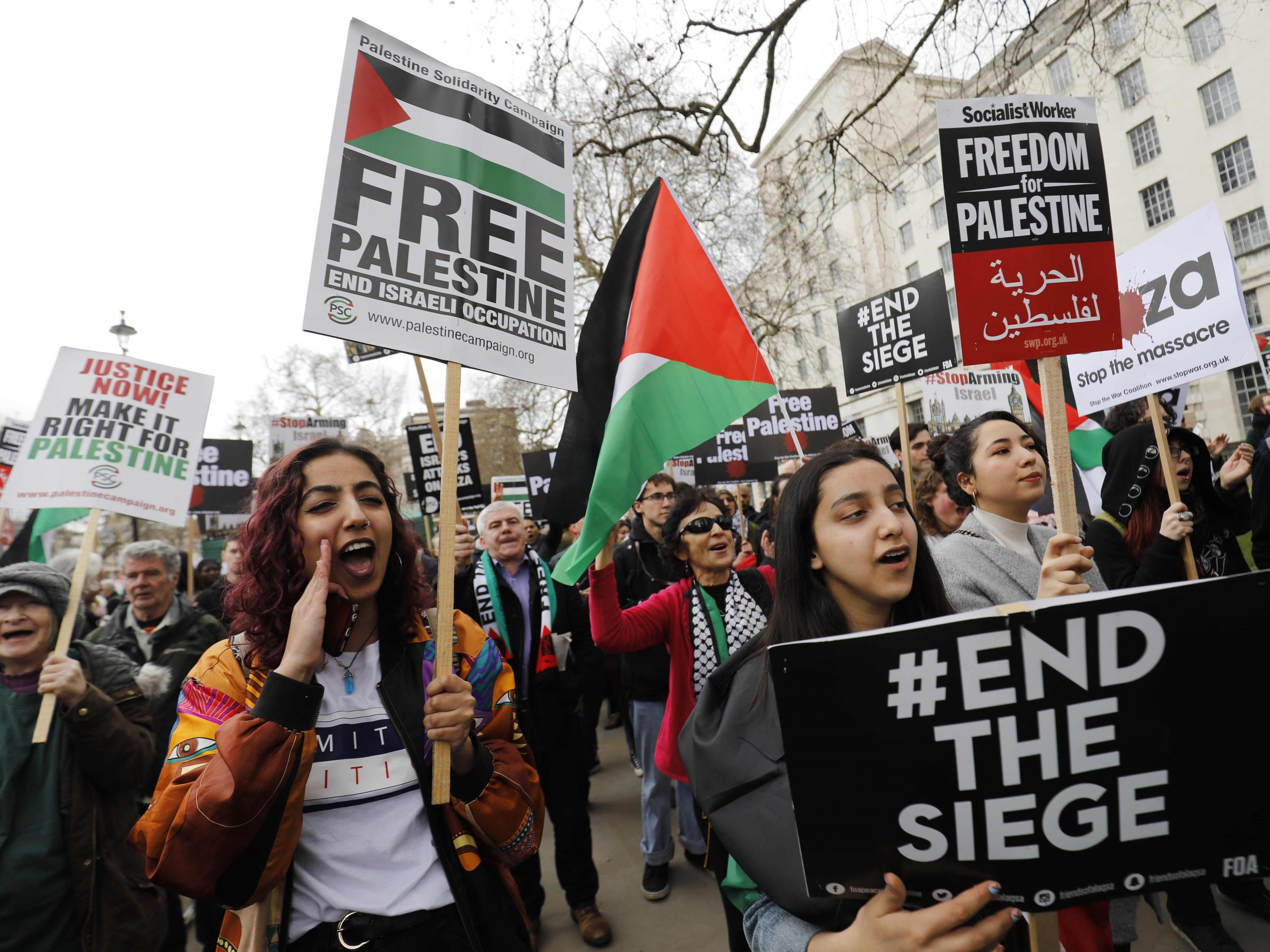 If the UK is so critical of the killing of unarmed protesters in Gaz…