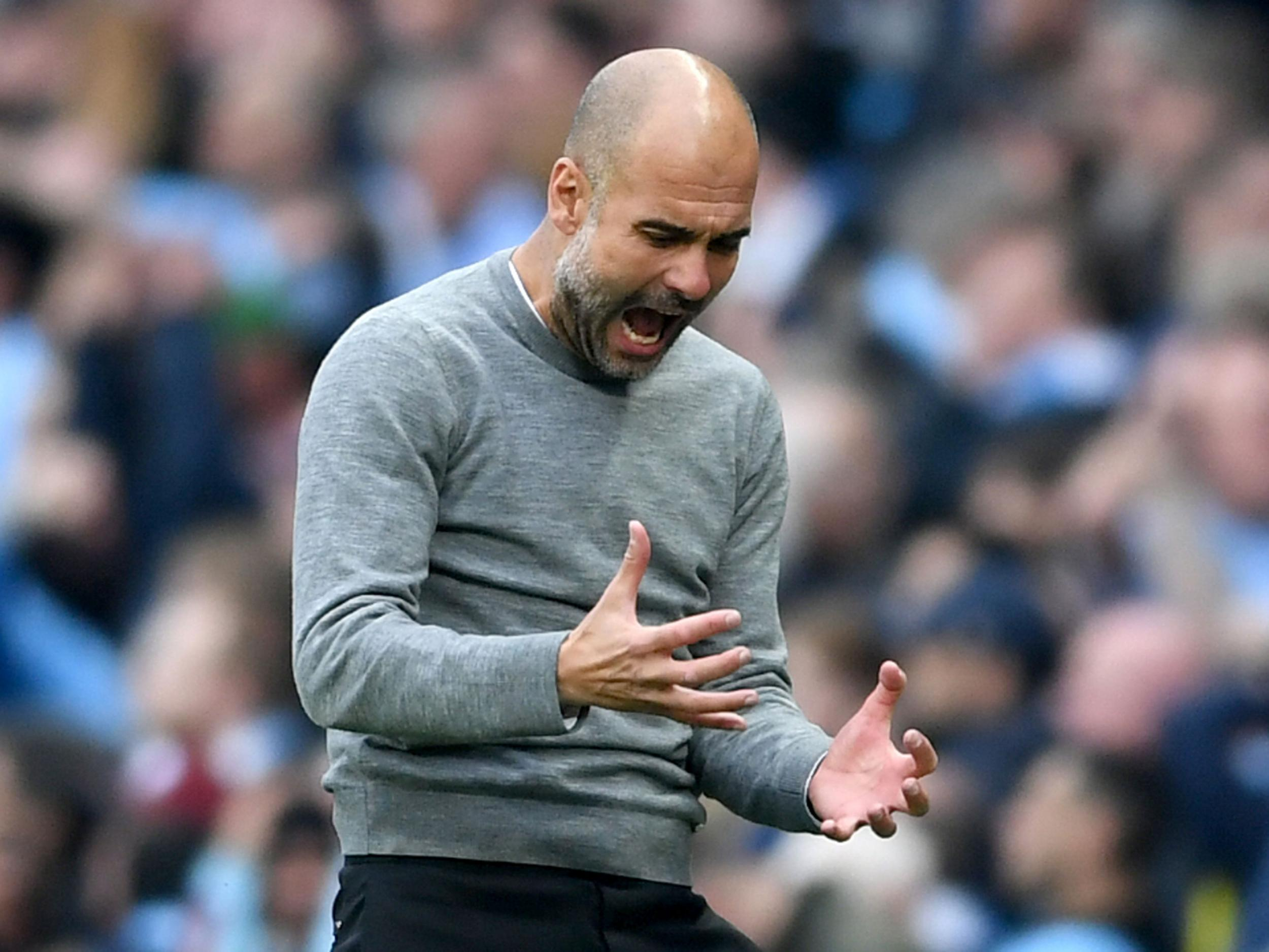 Pep Guardiola disappointed but hopes Manchester City's derby defeat adds sense of perspective