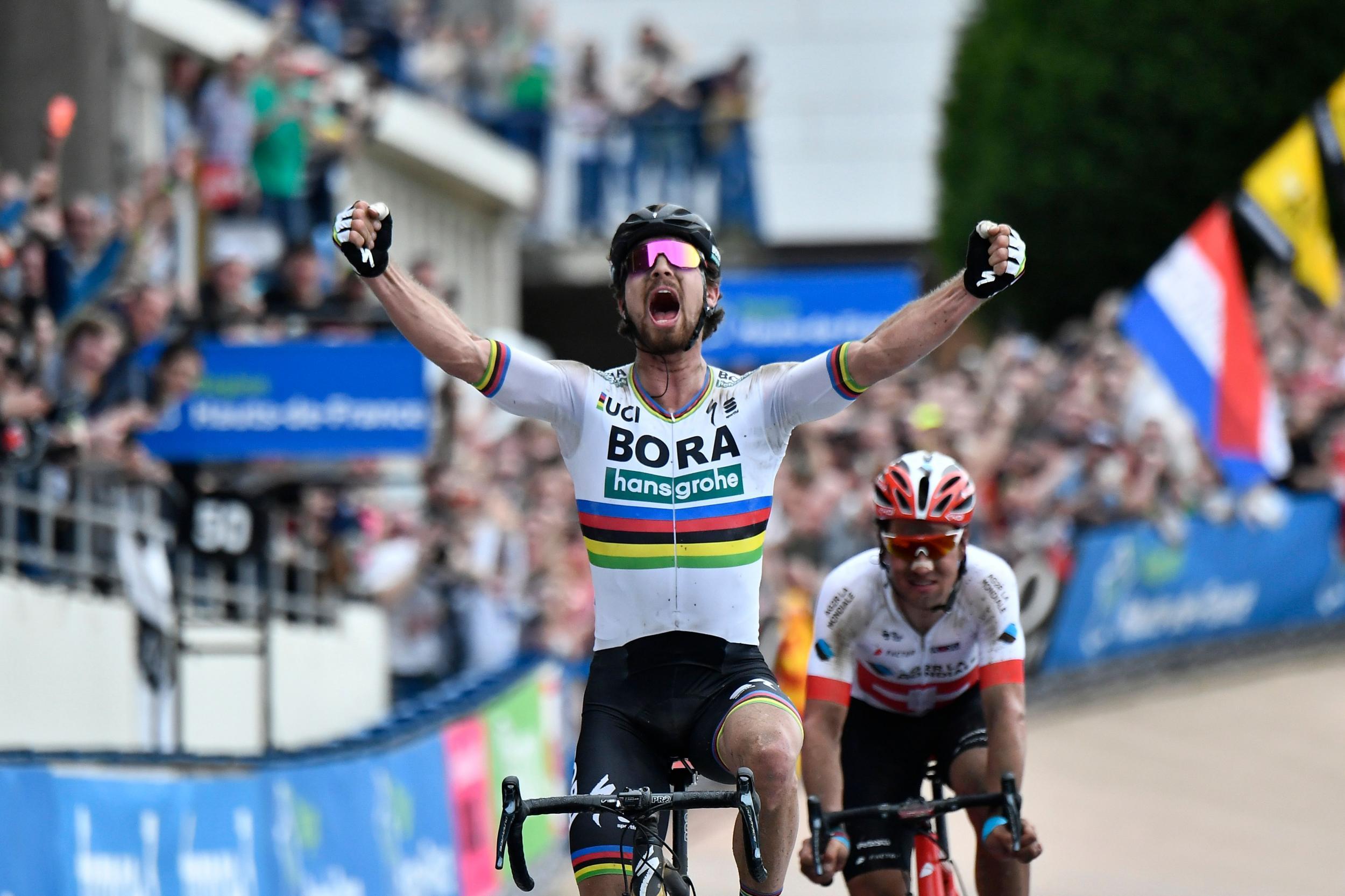 Peter Sagan's Paris-Roubaix win overshadowed by concern for Michael Goolaerts after cardiac arrest