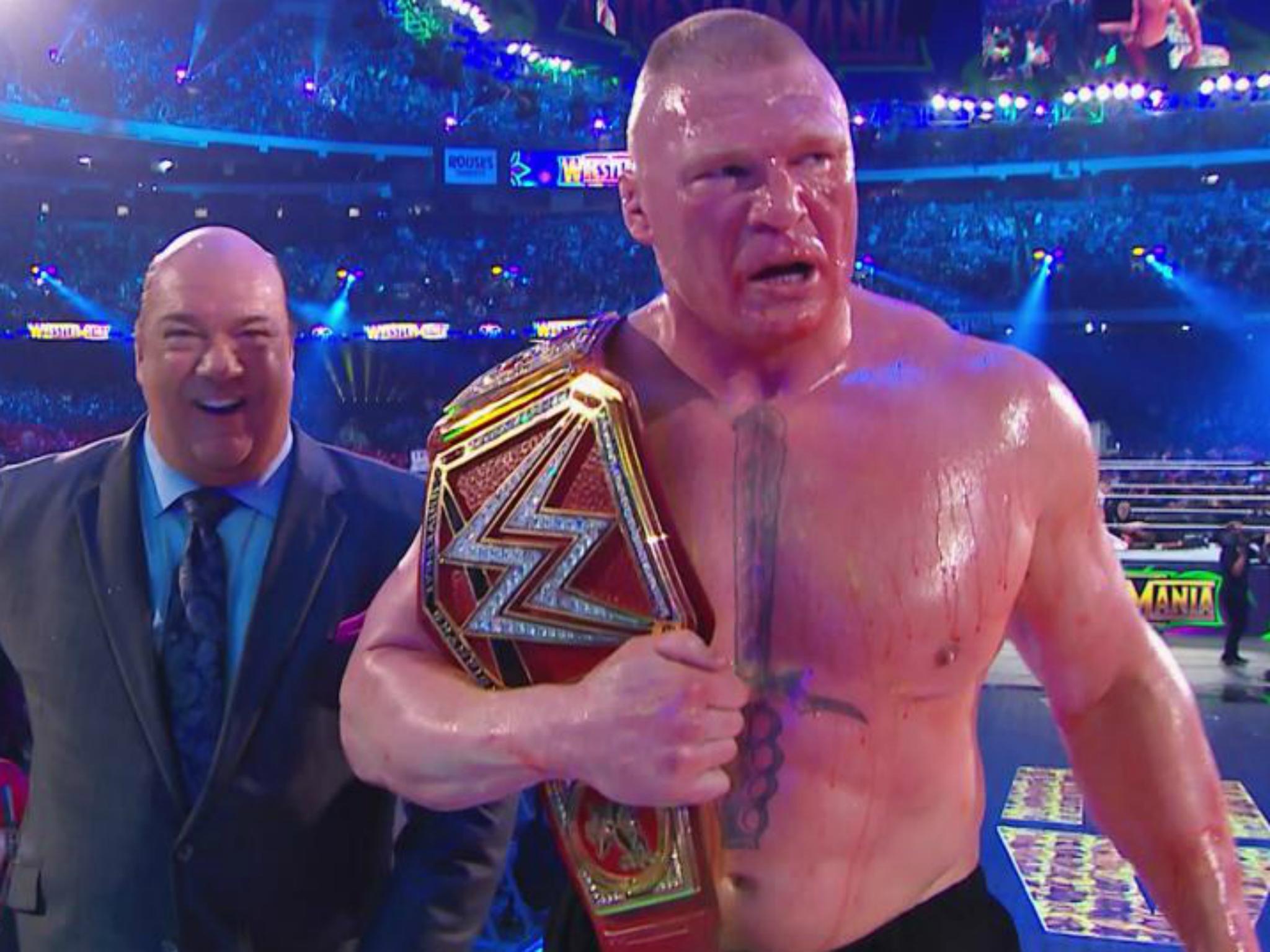 wrestlemania 34 results ronda rousey stuns triple h the undertaker