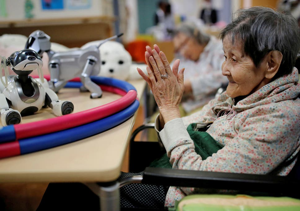 How robots could help care for Japan's ageing population