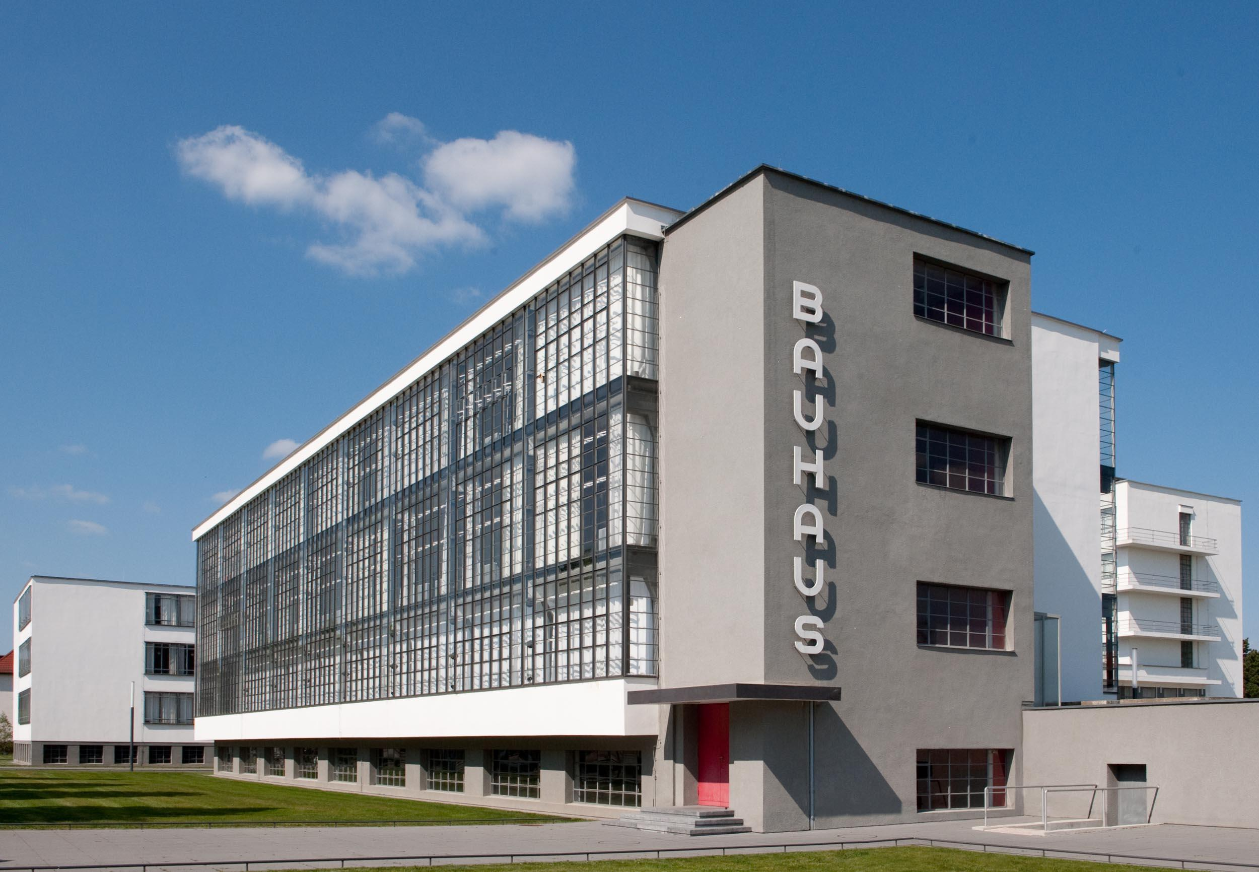 Inside the Bauhaus, the centre of the architectural movement