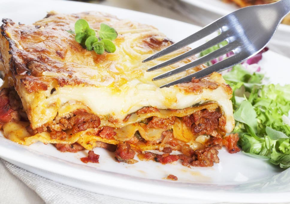 6498a1a8deb Woman sues Italian restaurant over  dangerous  lasagne that left her burned