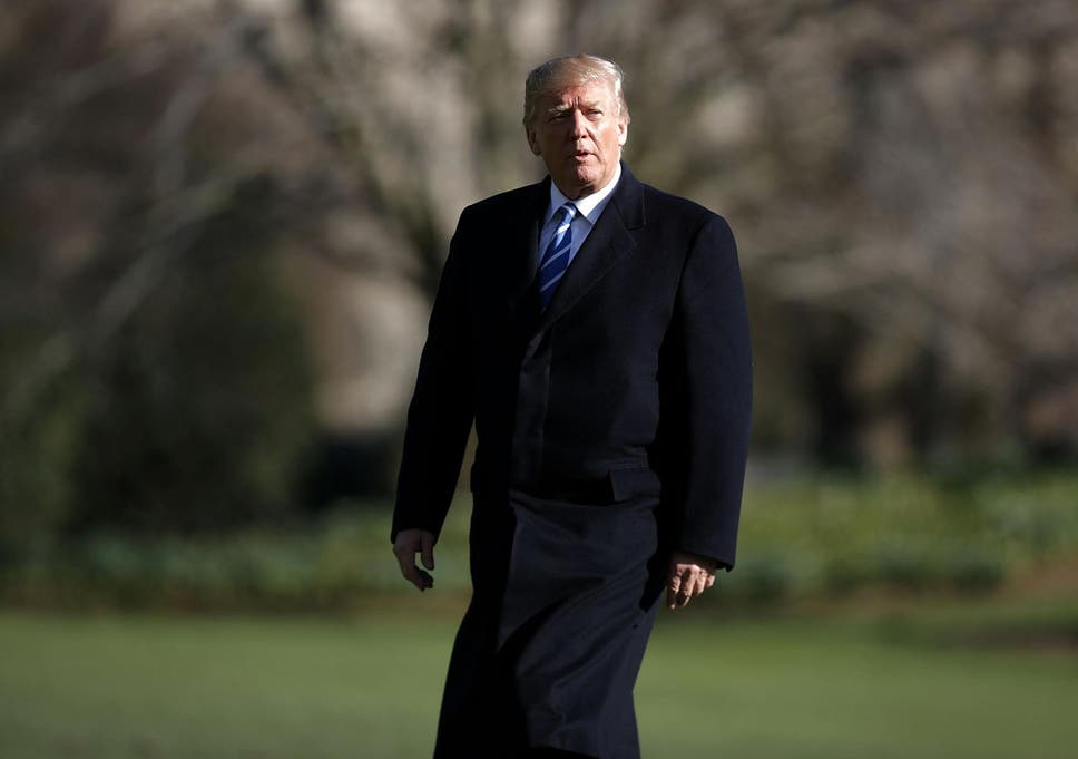 Donald Trumps Oversized Coat Sparks Uproar The Independent