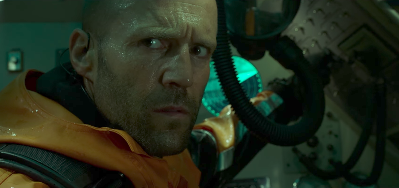 The Meg Trailer Jason Statham Takes On A Shark In New Action Movie
