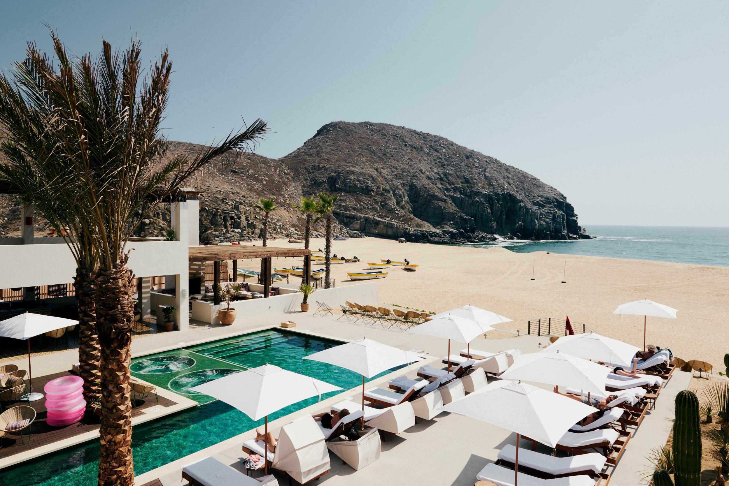 Poolside image of Hotel San Cristobal Cabo | How to Have the Perfect Vacation in Cabo