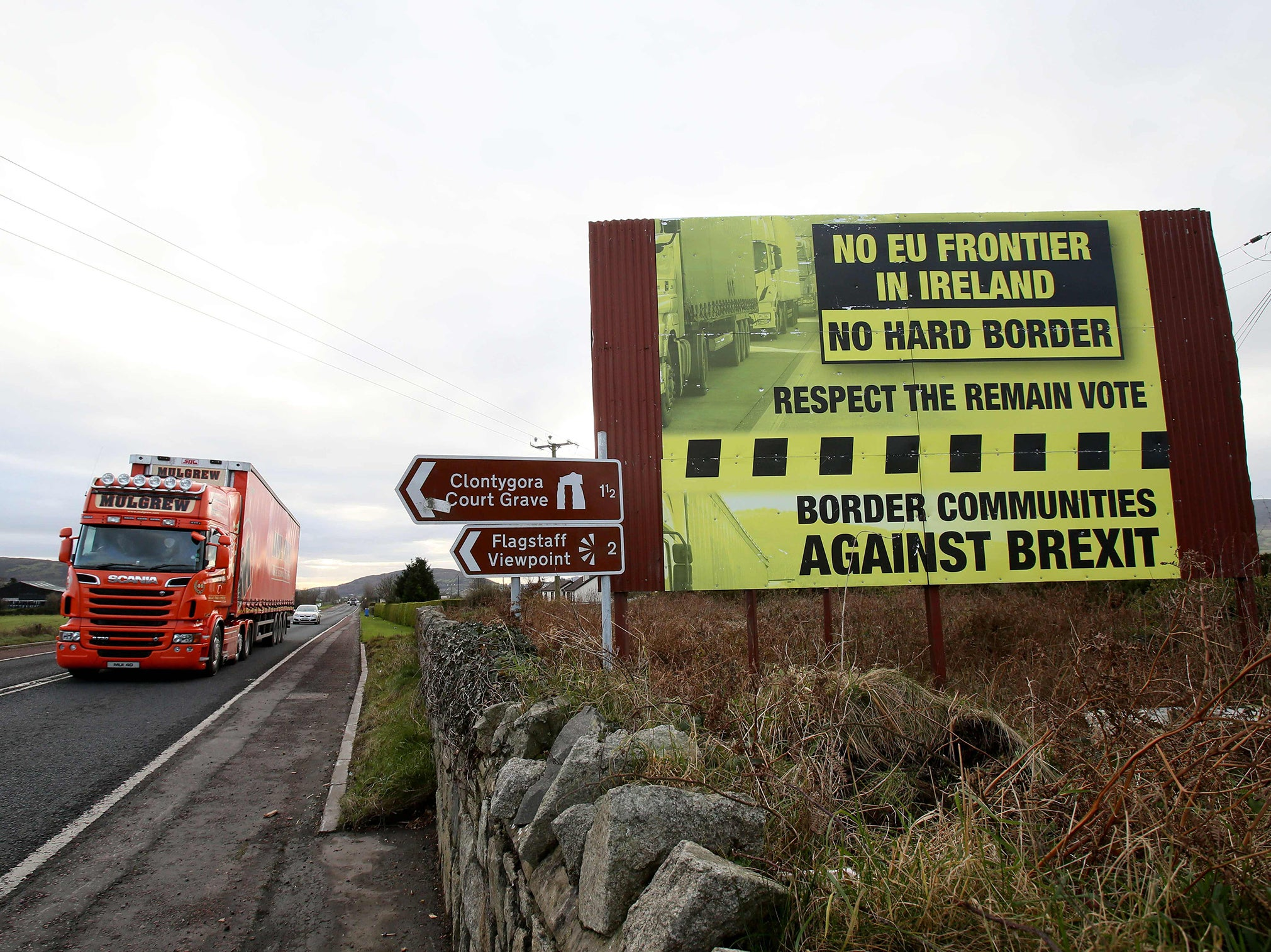 066178f0d2 Brexit backstop  What is the Irish border plan and why is it so  controversial