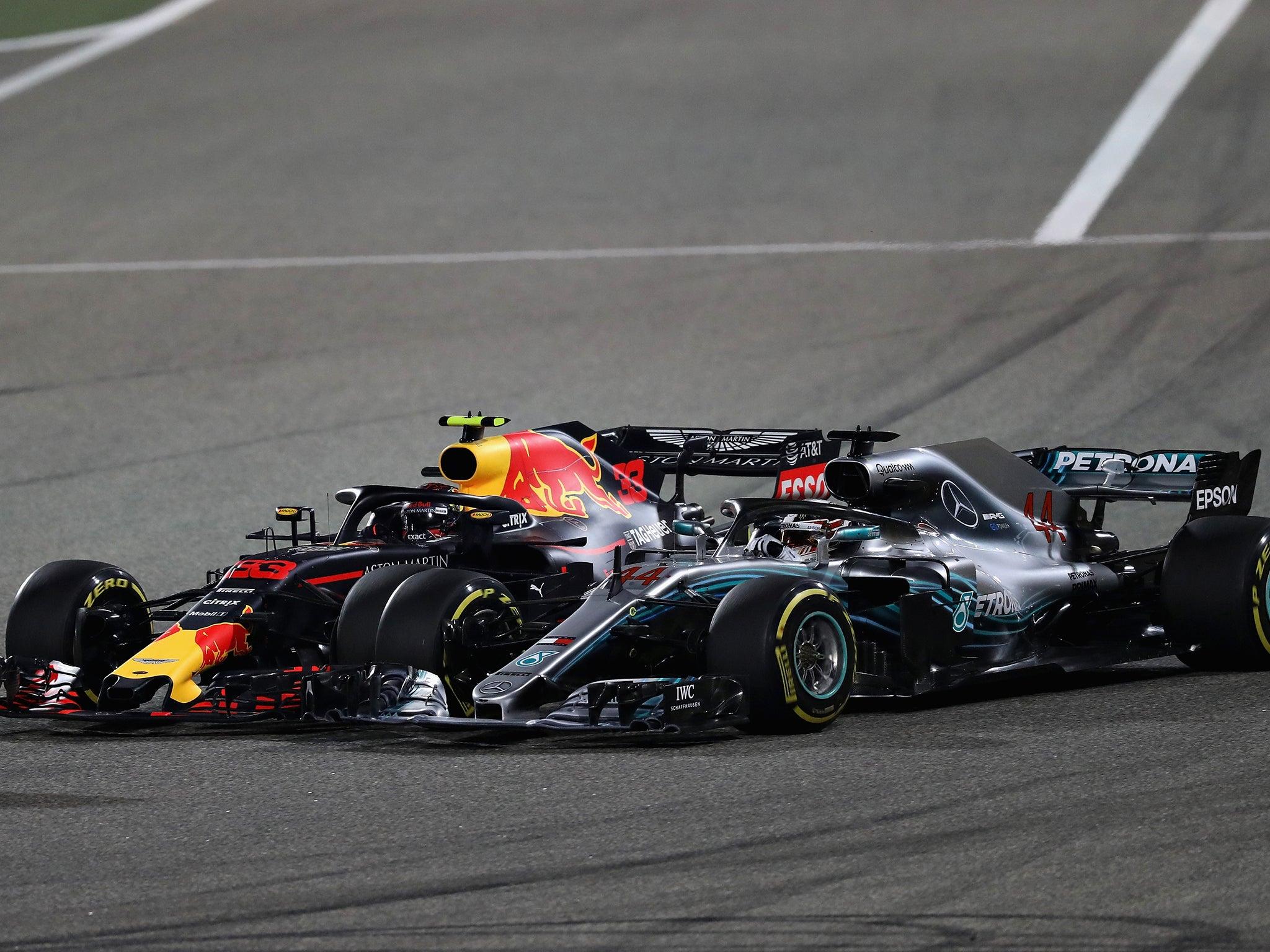 Max Verstappen accuses Formula One world champion Lewis Hamilton of