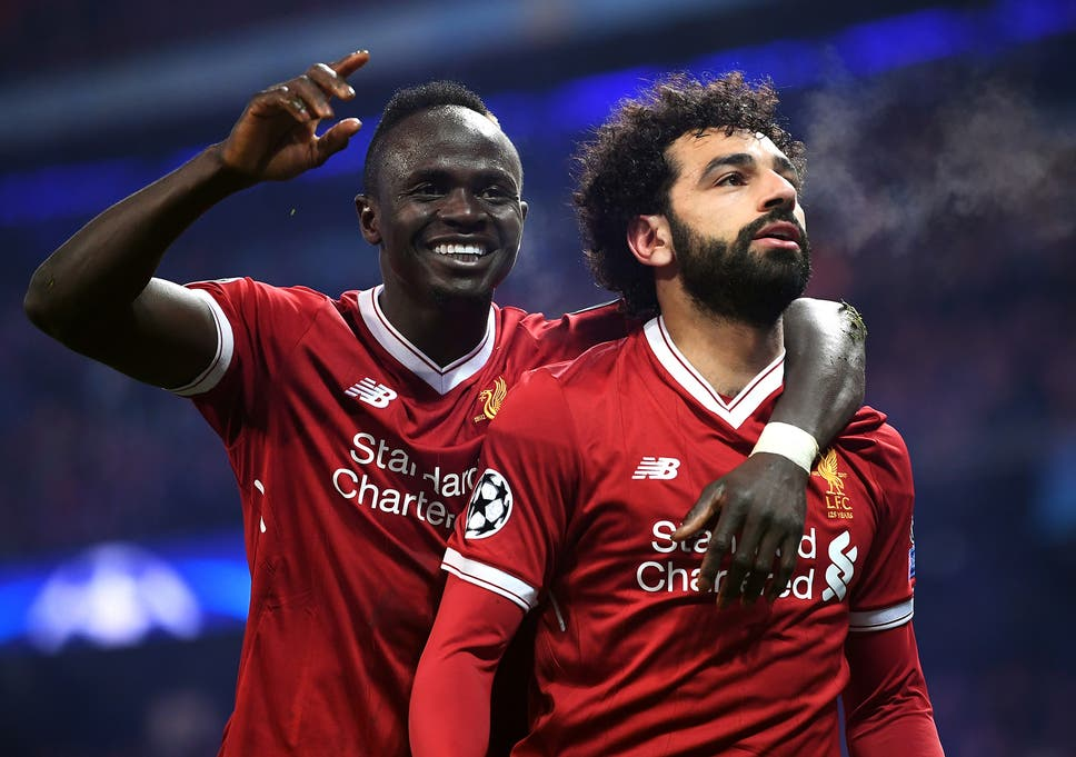 Mohamed Salah Reacts To Liverpool Knocking Manchester City