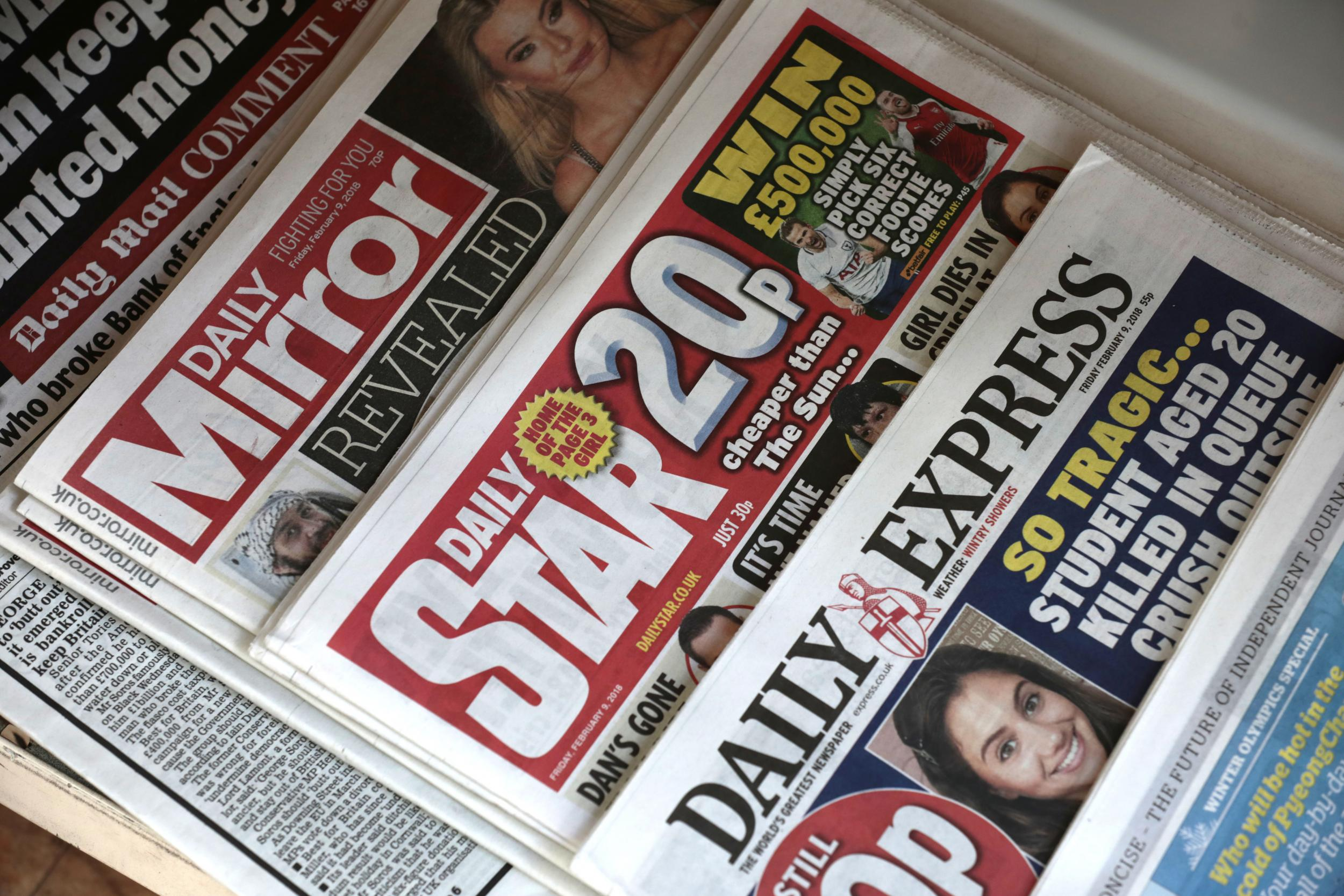 Trinity Mirror - latest news, breaking stories and comment