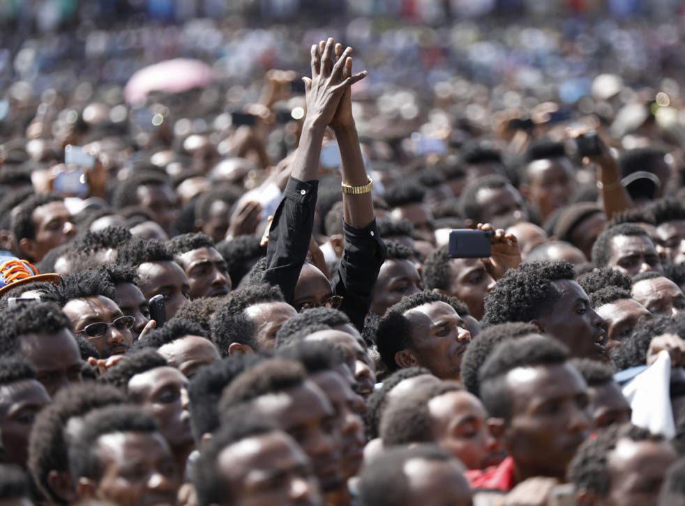 <p>The dam rallied popular support behind Abiy Ahmed</p>