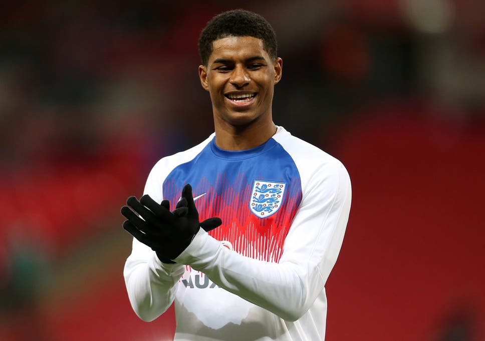 wholesale dealer b85a5 8466e Marcus Rashford on England's World Cup chances, Manchester ...