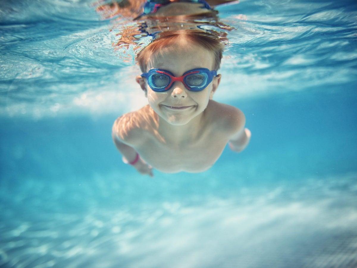 UK Kids Anti-Fog Swimming Goggles Pool Swim Glasses For Children Boys Girls Swim