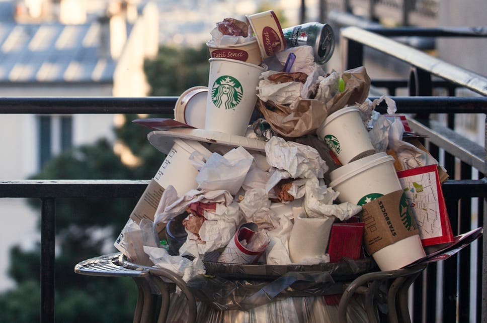 To tackle plastic pollution philip hammond needs to wake up and the government should introduce a 25p tax or latte levy on every fandeluxe Gallery
