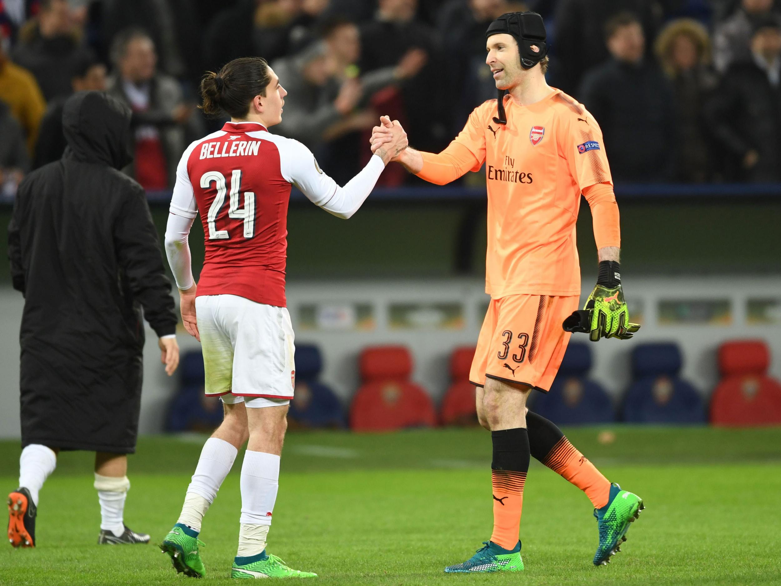 Petr Cech tells Arsenal teammates they have a 'big responsibility' to win the Europa League