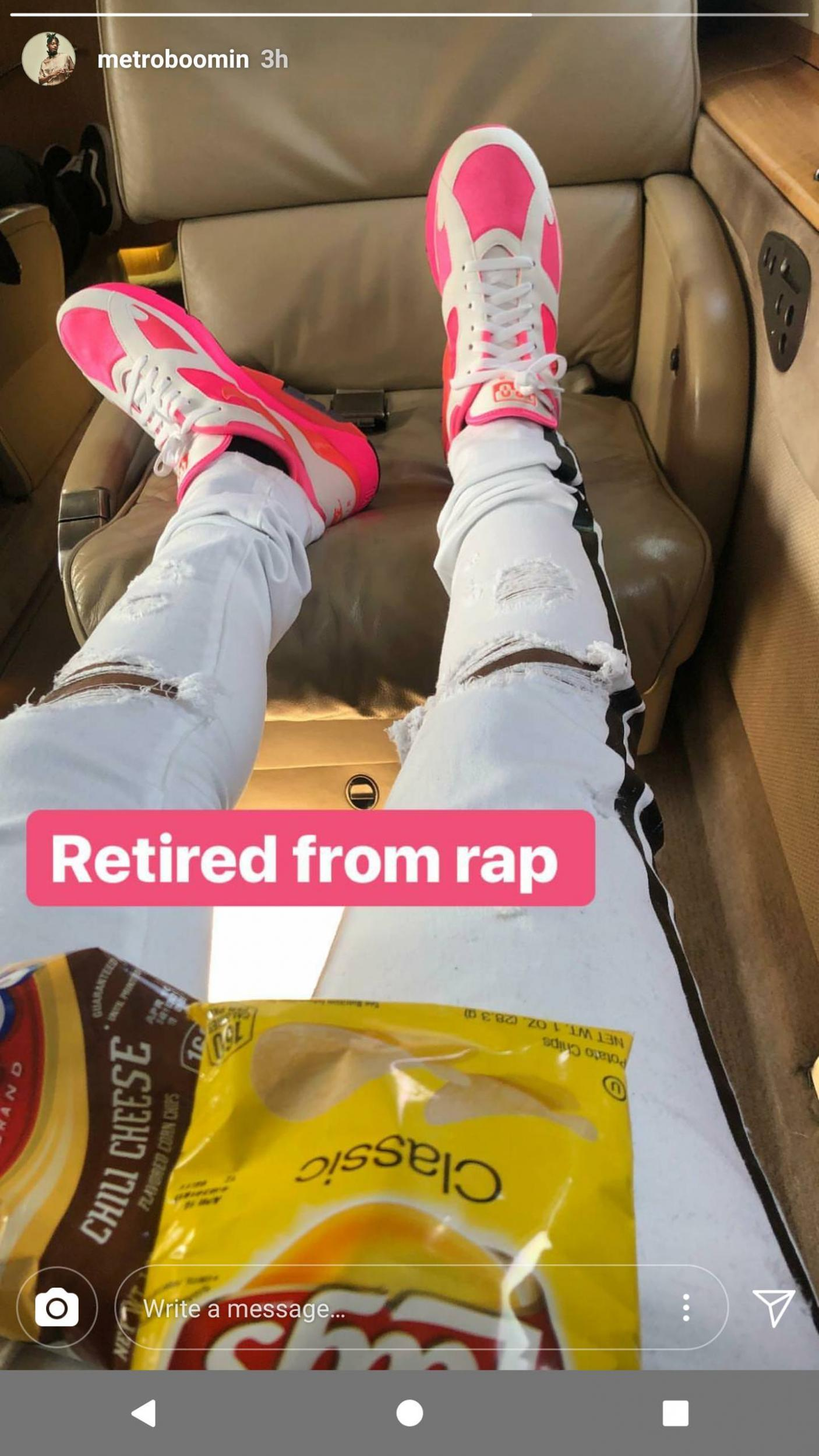 Metro Boomin want no more? Producer claims to have 'retired
