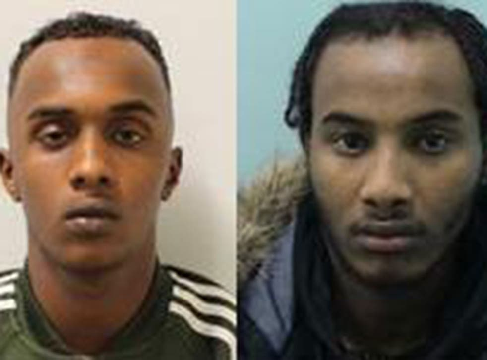 Fesal Mahamud and Mahad Yusuf are among the convicts jailed under the Modern Slavery Act