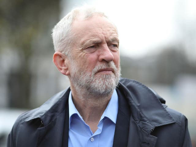 Labour leader Jeremy Corbyn has condemned air strikes by the US, UK and France in Syria