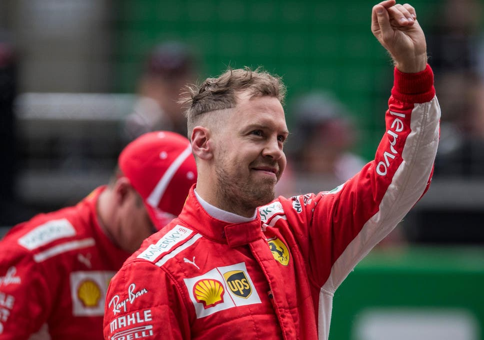 Ferrari surprised by their own speed as Sebastian Vettel grabs pole ... 7a0988d4716