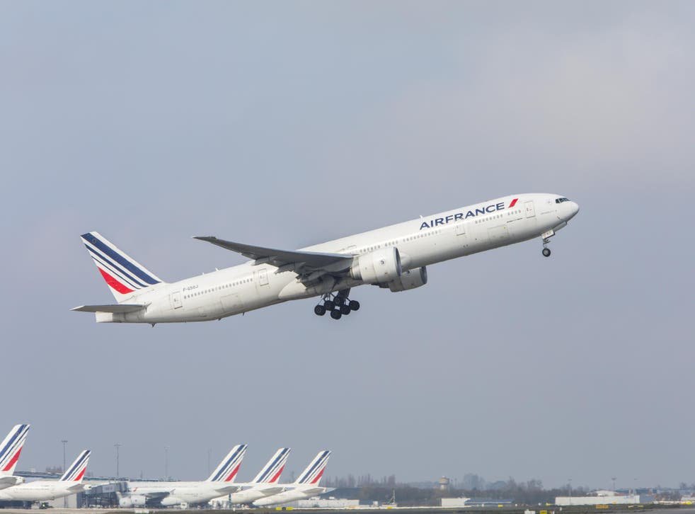 Going places? On strike days, Air France is cancelling around 30 per cent of departures