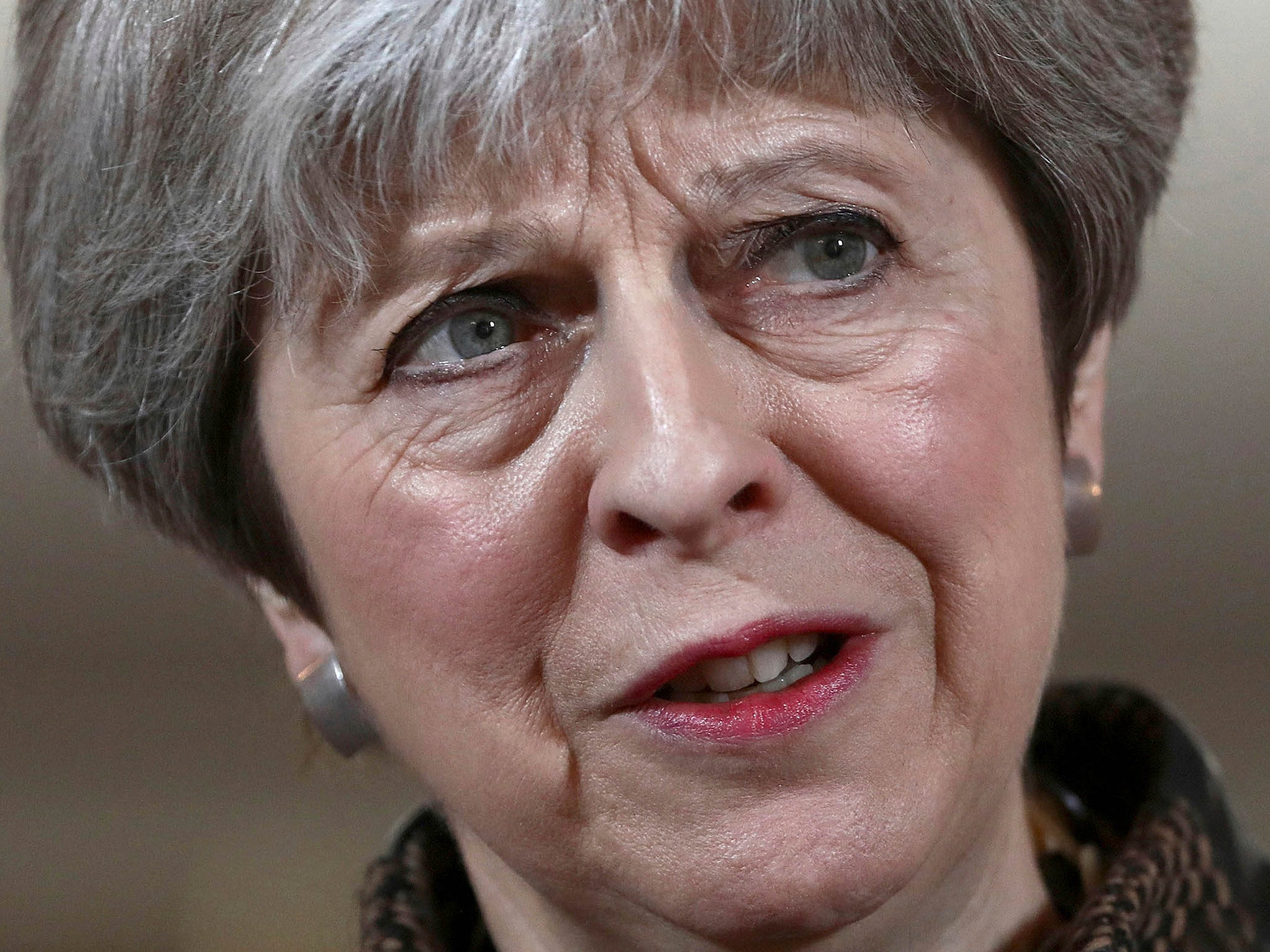 Theresa May was hardly thinking of the 'will of the people' when it came to military intervention