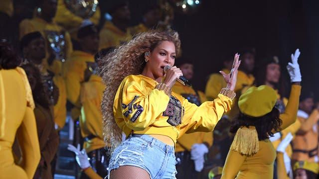 Beyonce headlined Saturday night at Coachella