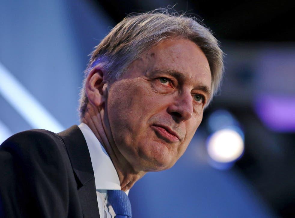 The public finances are improving for Chancellor Philip Hammond