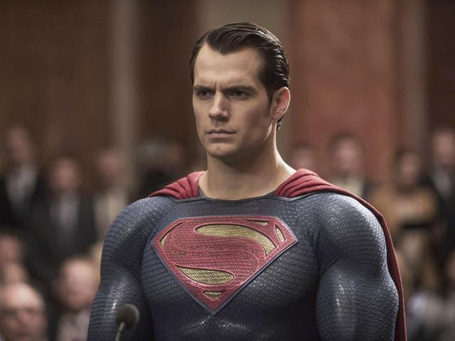 Henry Cavill in Batman V Superman - Dawn of Justice, 2016