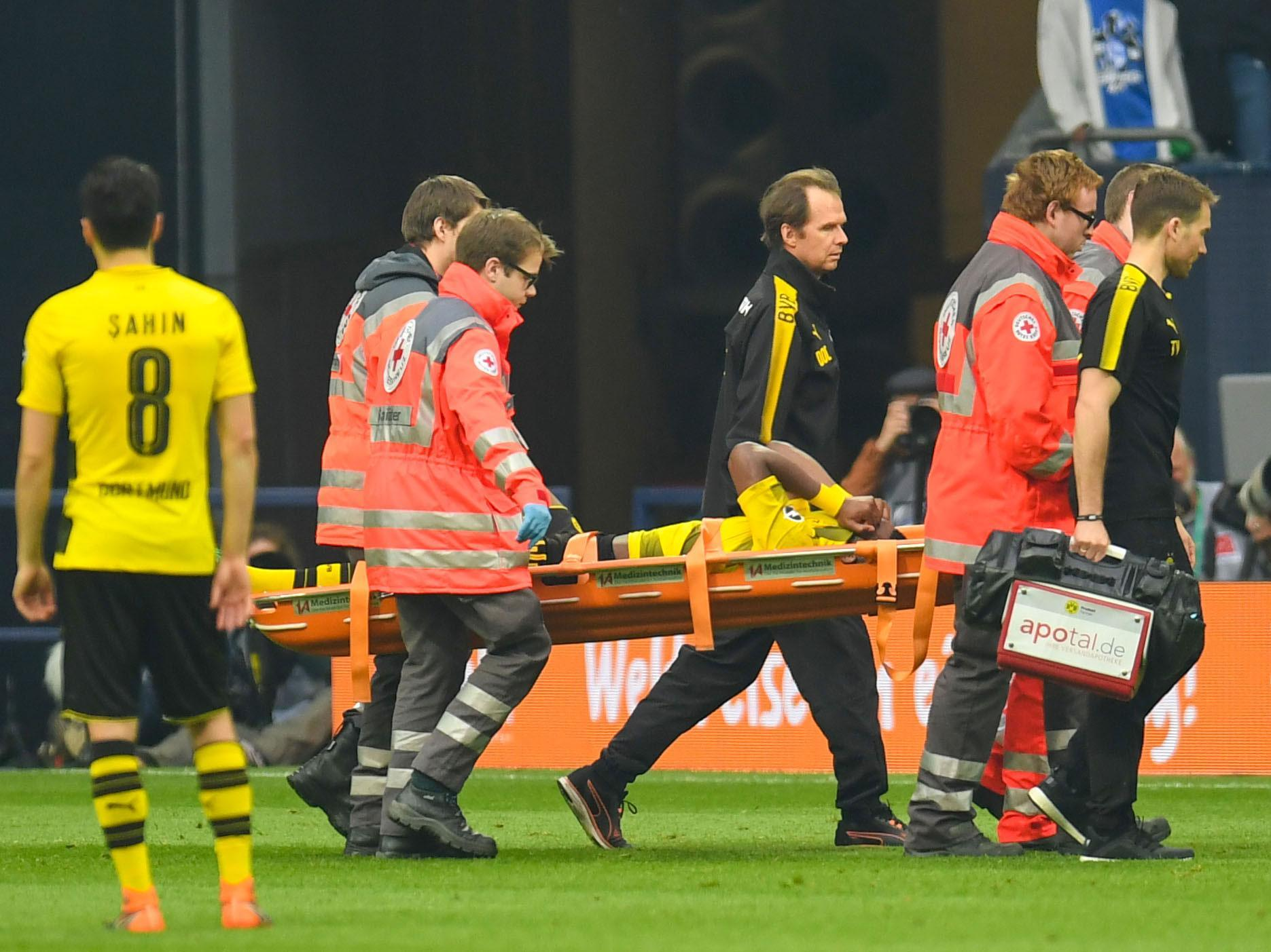 Michy Batshuayi's World Cup in doubt as Borussia Dortmund appear to confirm long-term injury
