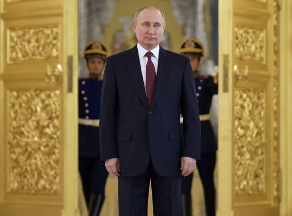 <p>Putin has consistently denied that his country carries out cyberattacks</p>