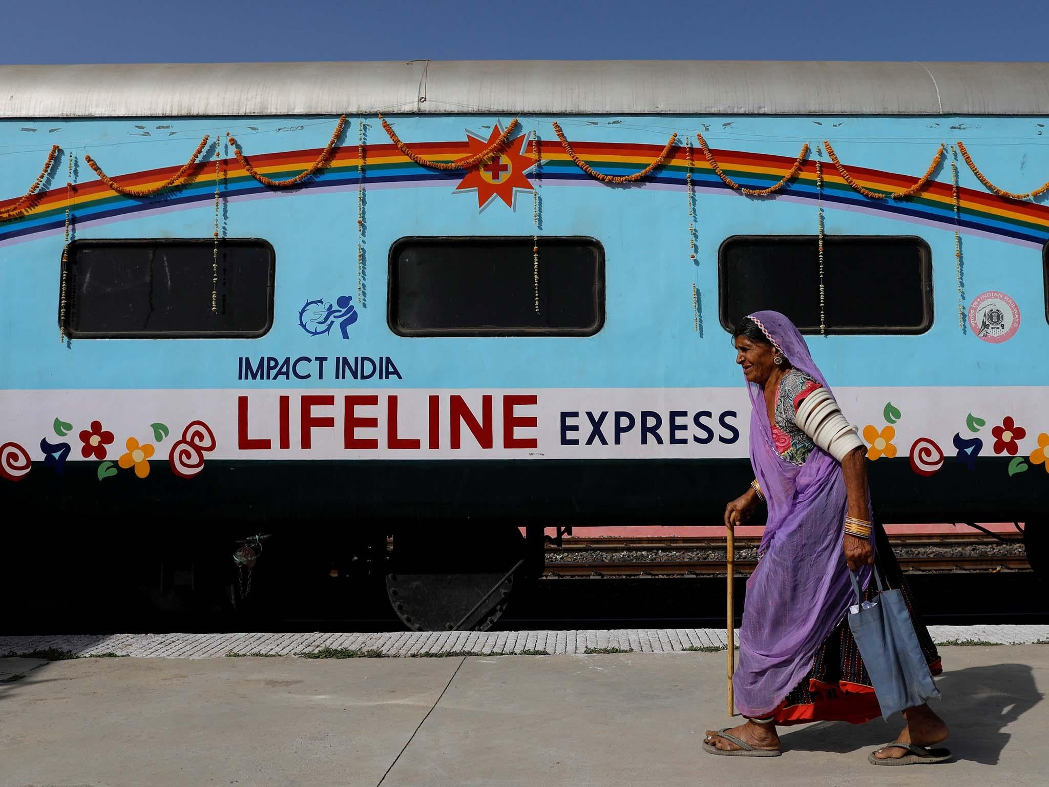 Hospital on wheels brings hope to Indian villages | The Independentindependent_brand_ident_LOGOUntitled