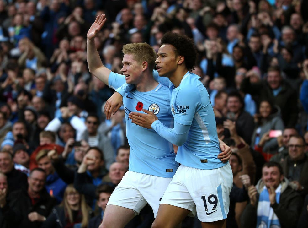 Kevin de Bruyne is on course to win the inaugural award