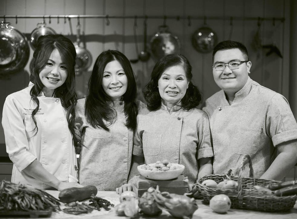 Little Viet Kitchen - author and family