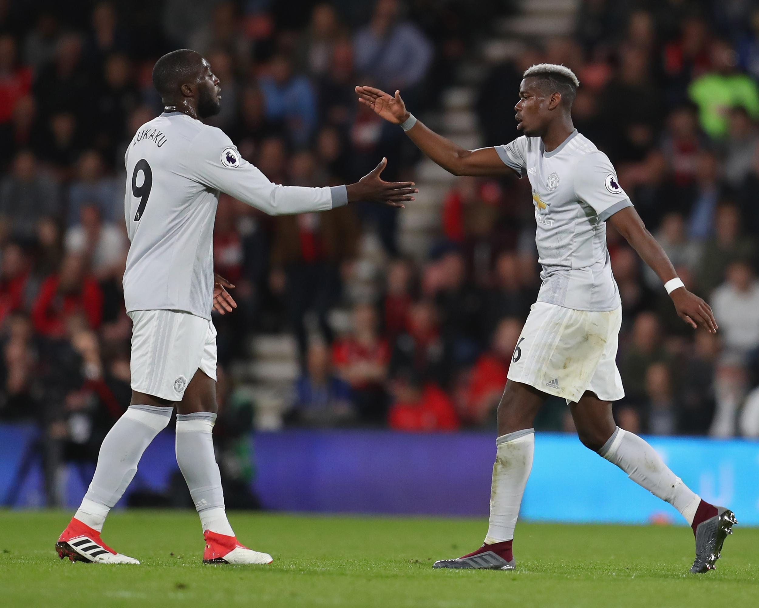 Paul Pogba Impresses For Manchester United Against Bournemouth But Late Substitution Points To Trouble The Independent