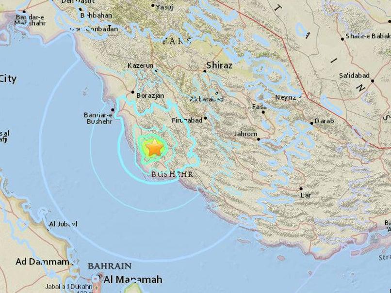 Magnitude 5.5 earthquake strikes Iran near nuclear power plant