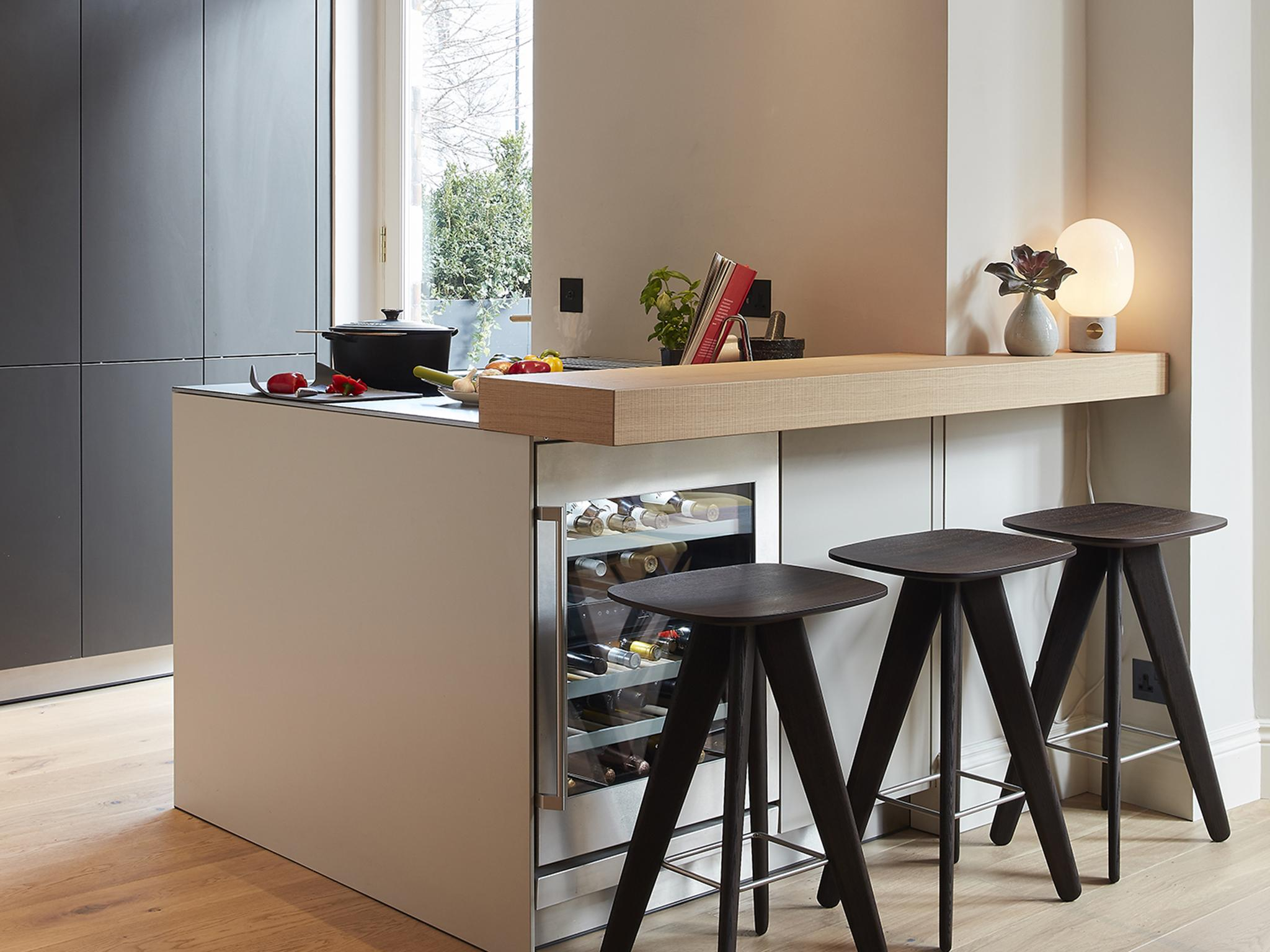 Island counters & Islands exposed brickwork and the blackest blacks: top trends for ...