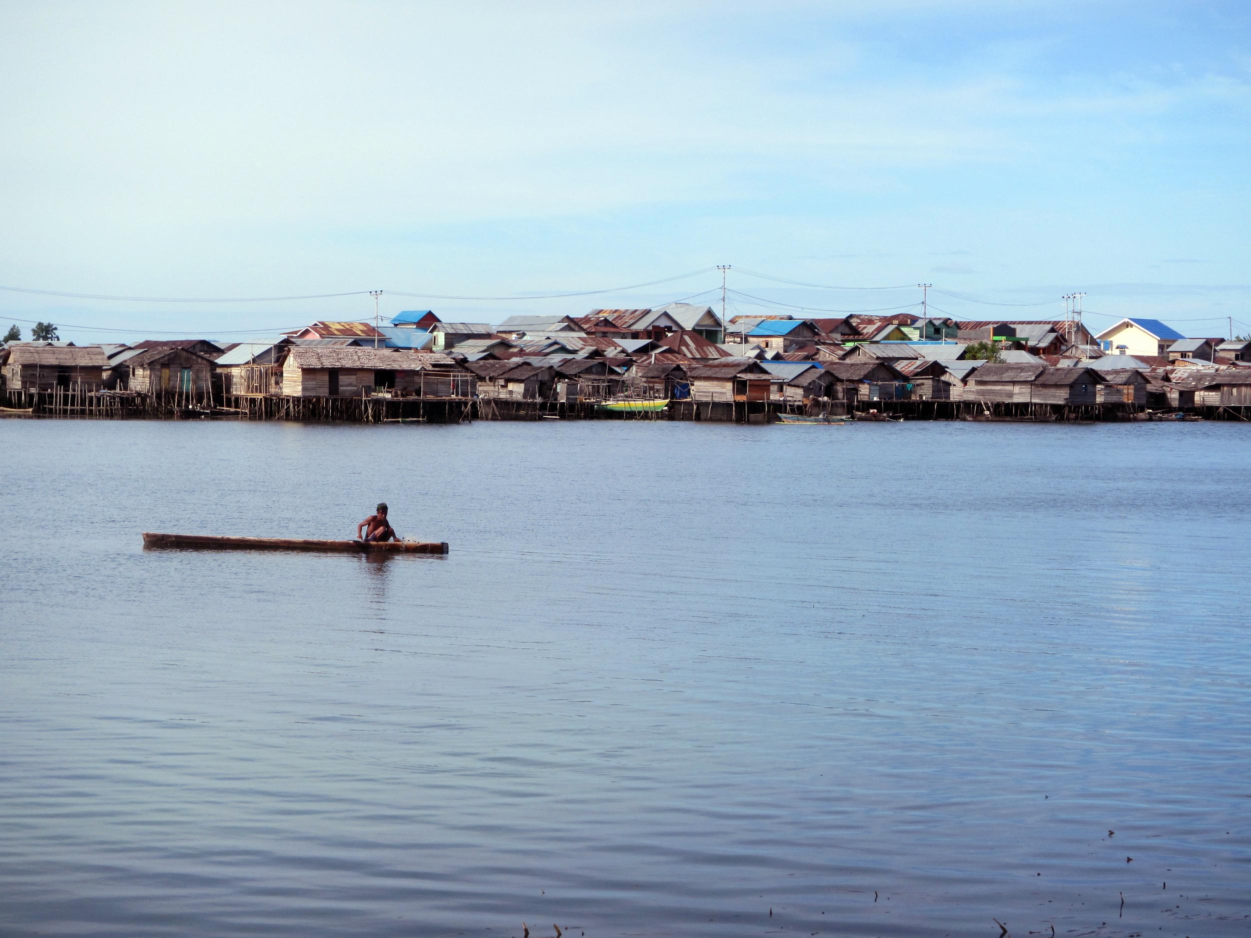 The Bajau village of Jaya Bakti