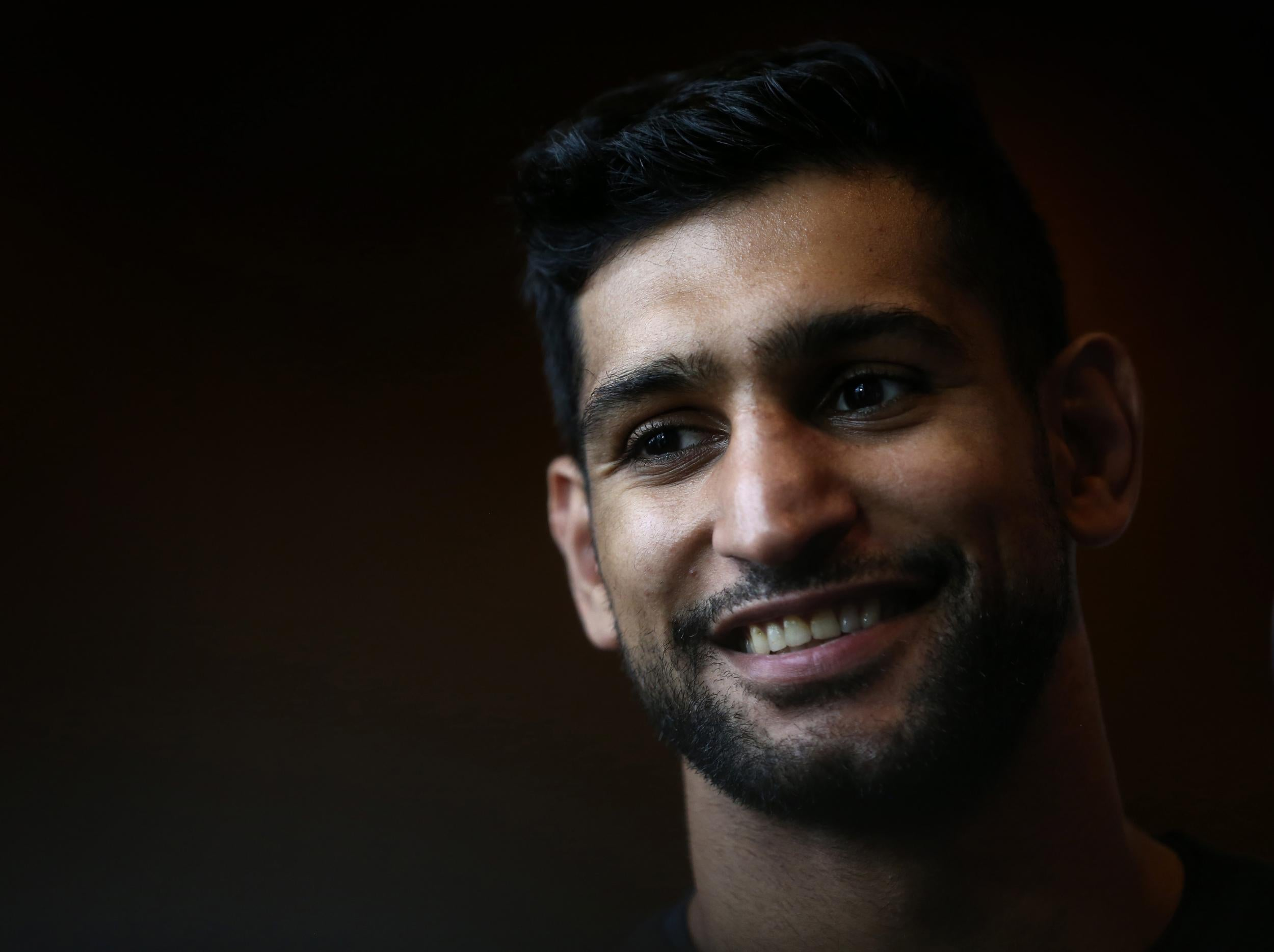 amir khan takes inspiration from heavyweight champion