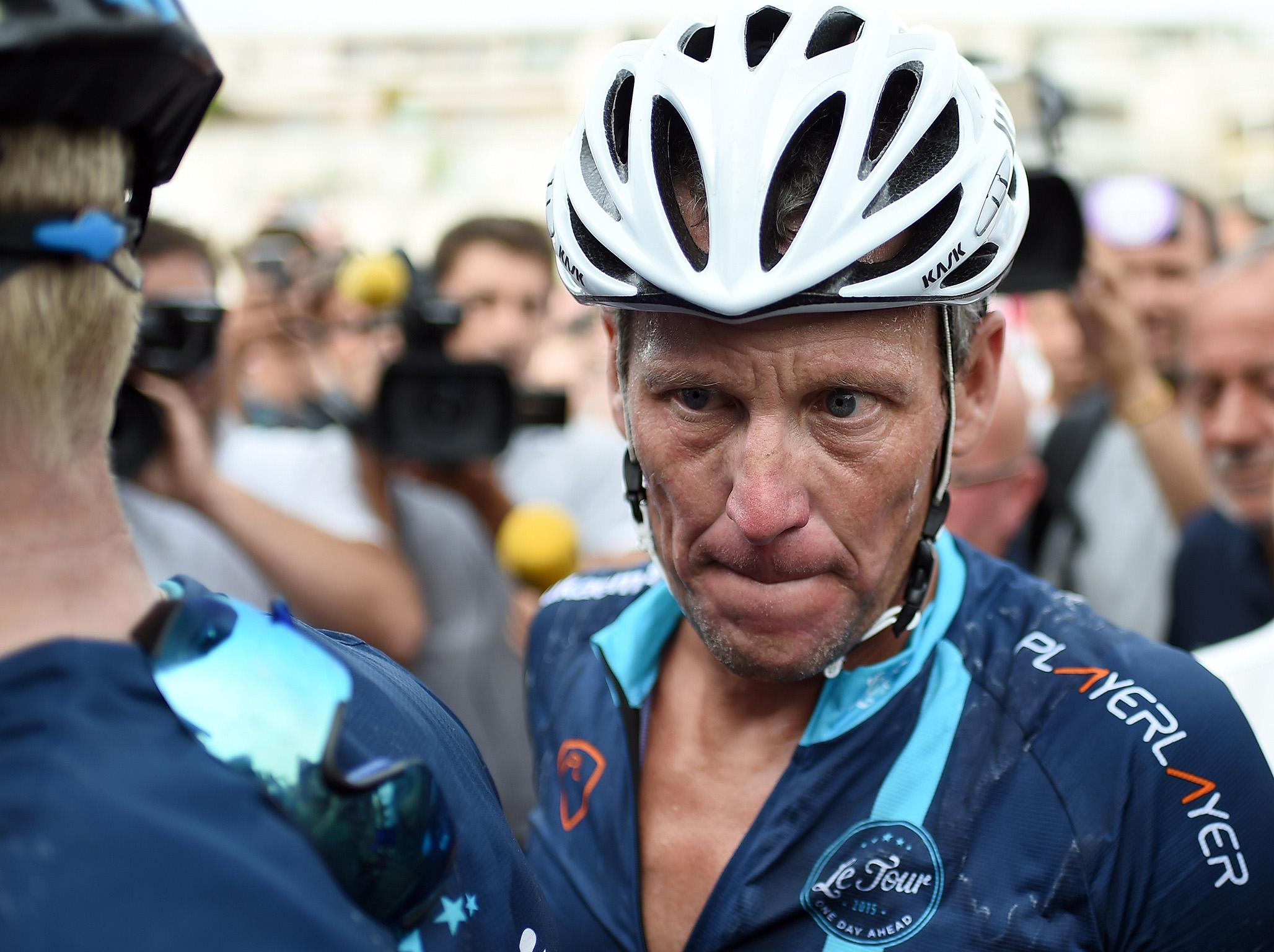 a0e97236b Lance Armstrong was stripped of seven Tour de France titles (AFP Getty  Images)