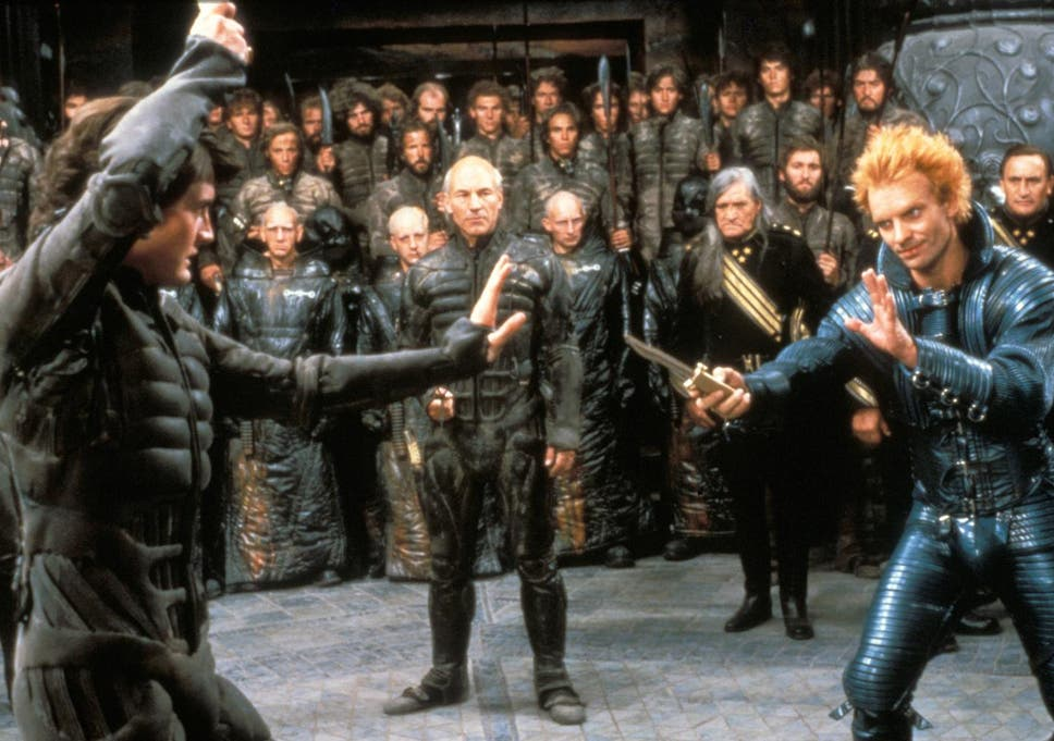 Patrick Stewart had no idea who Sting was on the set of Dune: 'You ...