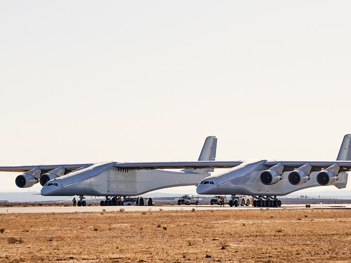 World's largest plane with wingspan bigger than football pitch to take first full flight