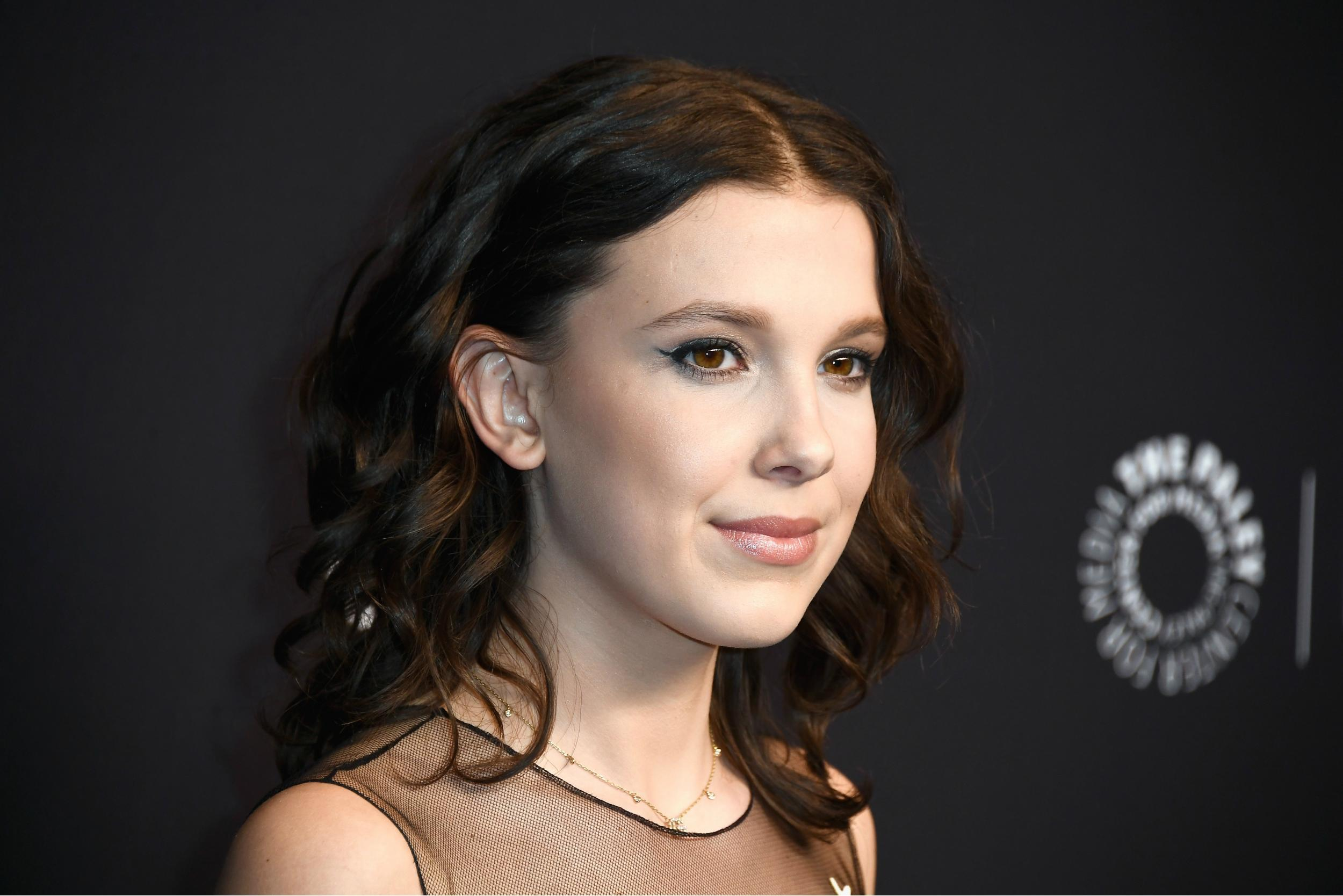 Millie Bobby Brown Becomes Youngest Person Ever On Time  List The Independent