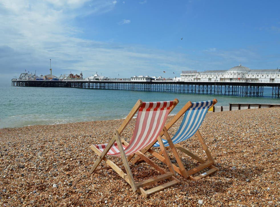 Brighton rocks: the resort has an eclectic choice of accommodation
