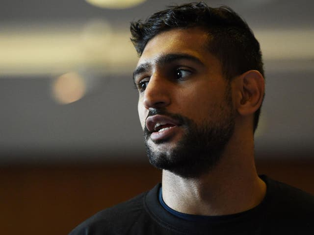 'Boxing's something I've been doing all my life. It's great to be in a position now where I can make it back to the top again'
