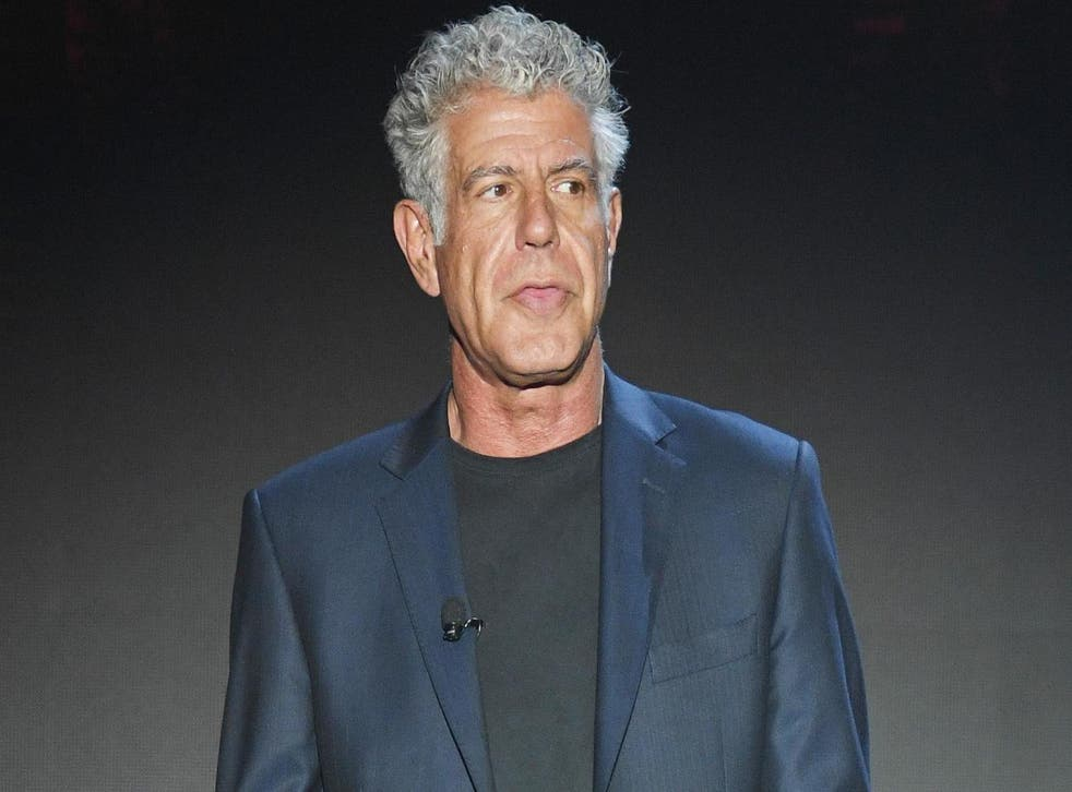 Anthony Bourdain shared his thoughts on the Impossible Burger (Getty)