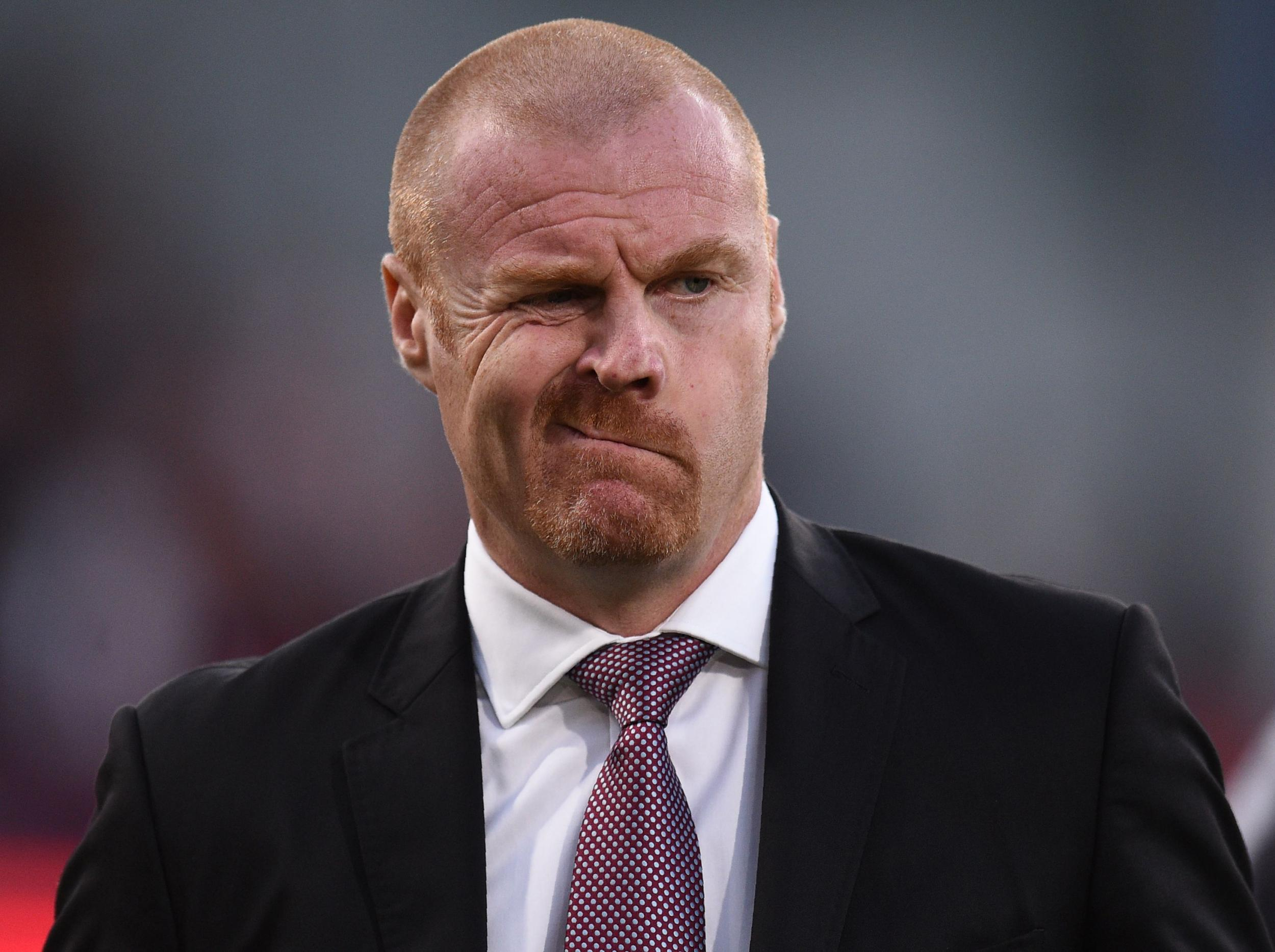 Sean Dyche continues balancing act as Premier League and Europa League commitments take their toll